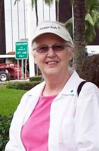 Val Mossop in Honolulu